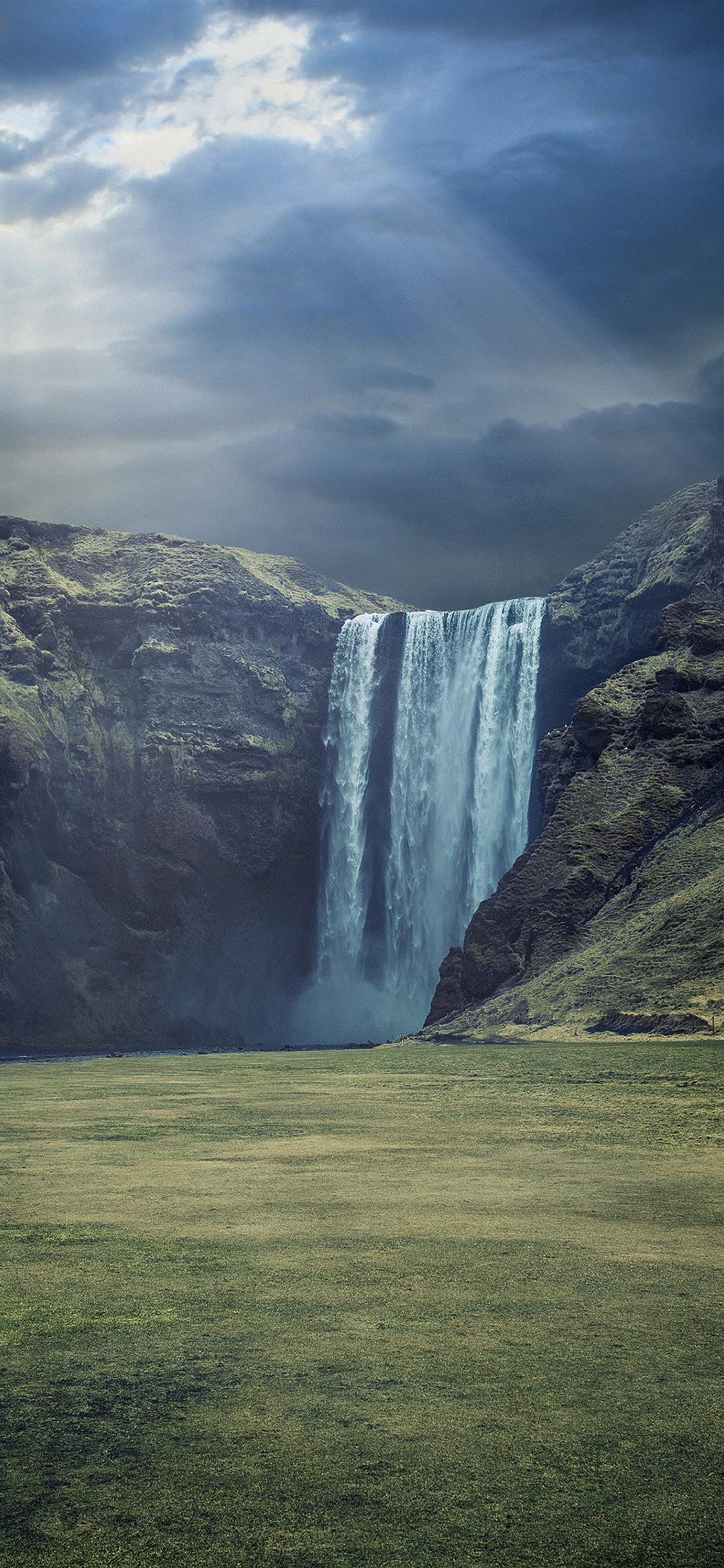 Waterfall Landscape HD Wallpaper - [1125x2436]