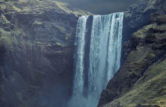 Waterfall Landscape Wallpaper 1080x2280 340x220