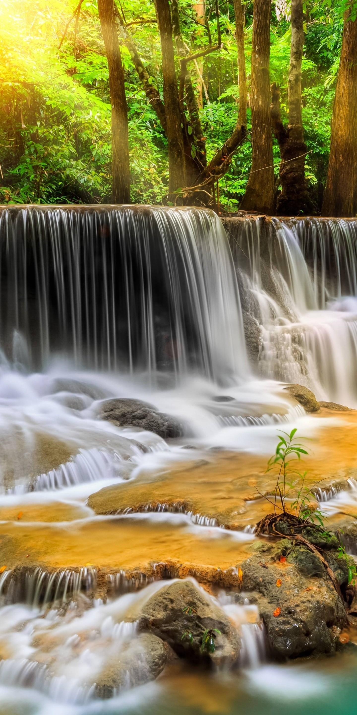 Waterfall River Landscape Nature Waterfalls