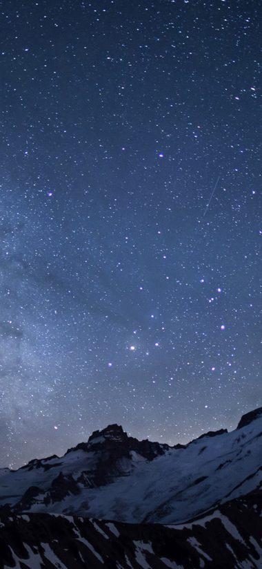 Winter Milky Way HD Wallpaper 1125x2436 380x823
