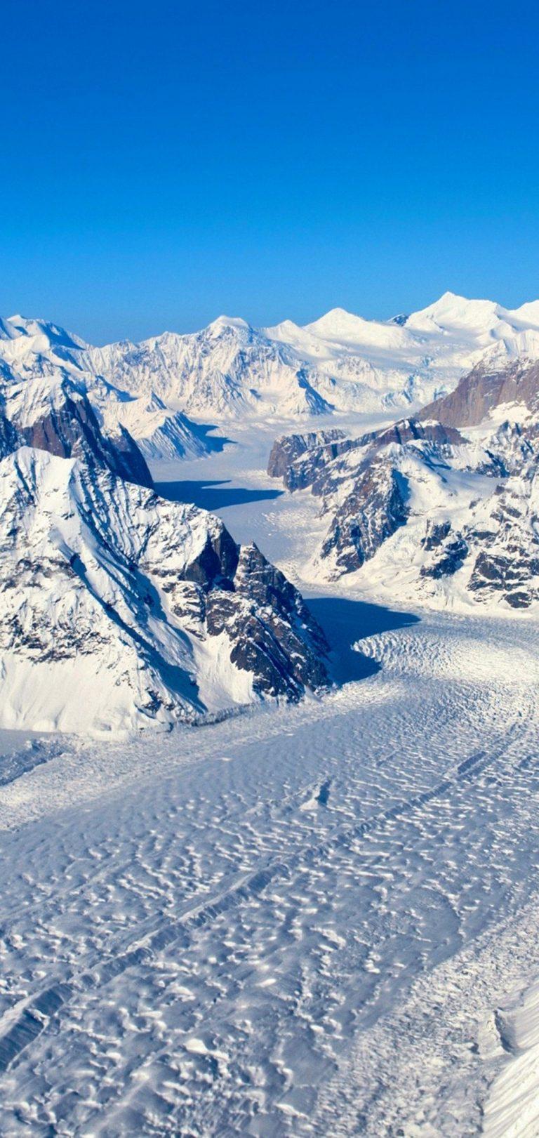 Winter Mountain Wallpaper 1080x2280 768x1621