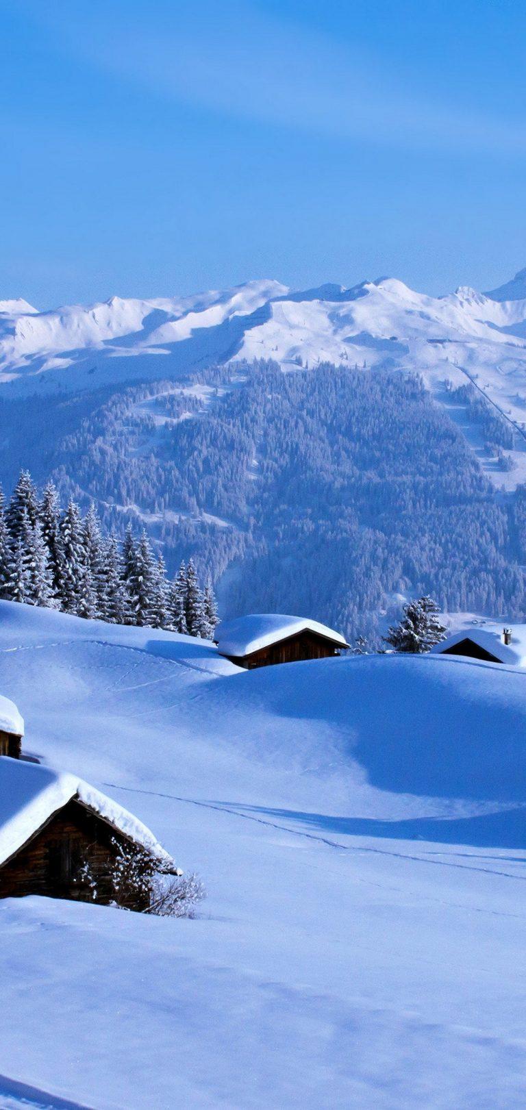 Winter Snow Wallpaper 1080x2280 768x1621