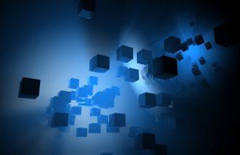 3D Cubes Abstract 1152x720 340x220