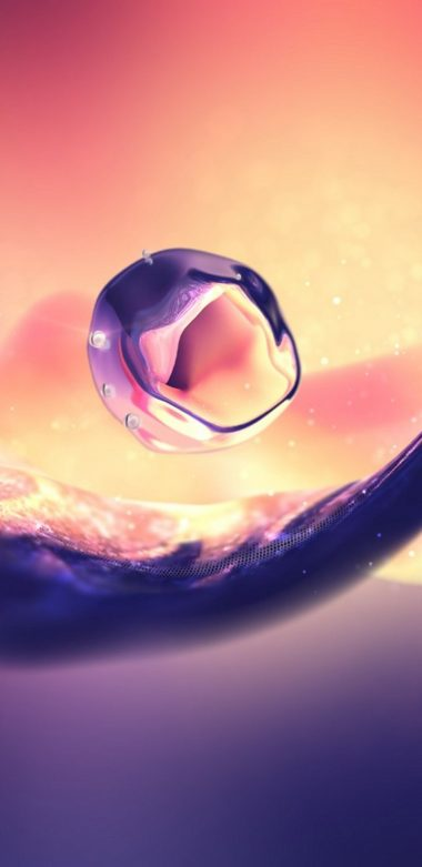 3d Afloat Drop Img Wallpaper 720x1480 380x781