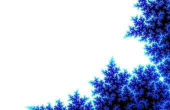 Abstract Blue Tree Wallpaper 960x600 340x220