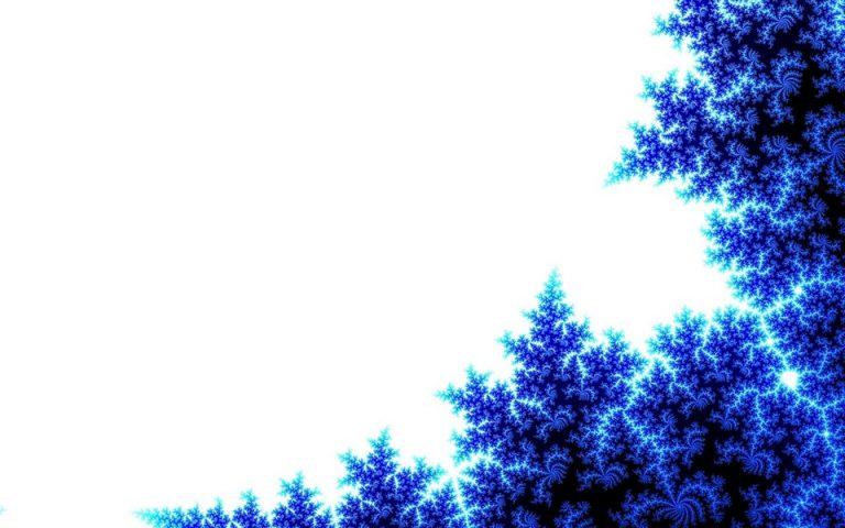 Abstract Blue Tree Wallpaper 960x600 768x480