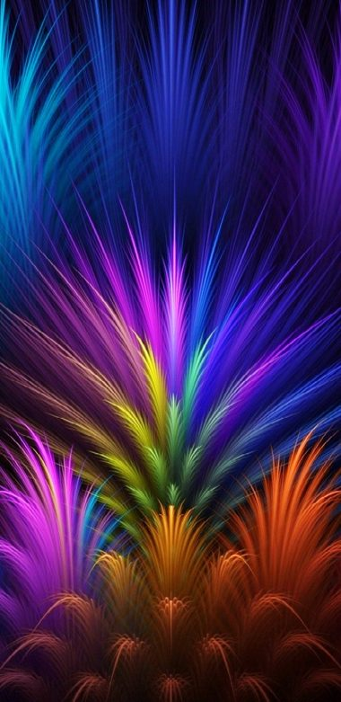 Abstract Colors Wallpaper 720x1480 380x781