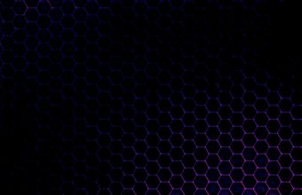 Abstract Purple Circles Pattern Wallpaper 960x600 340x220