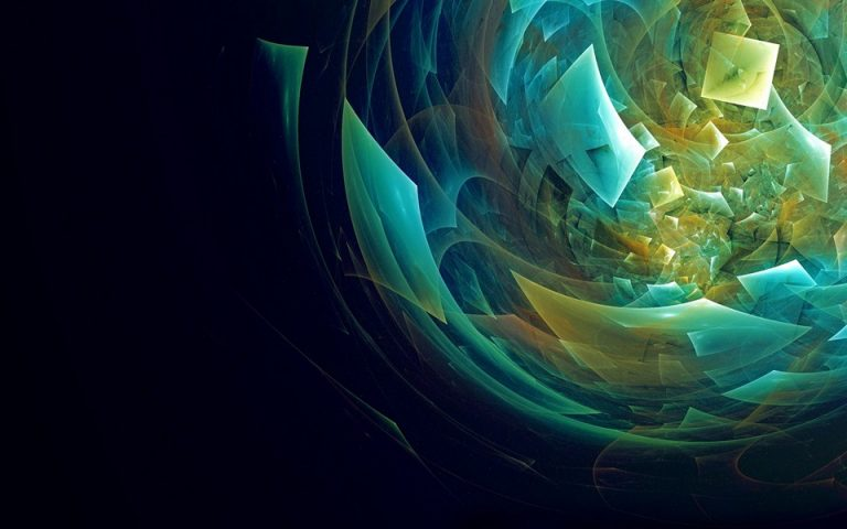 Abstraction Broken Colorful Wallpaper 960x600 768x480