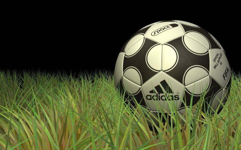 Adidas Ball On Grass