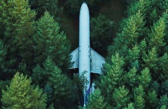 Airplane Trees Top View Wallpaper 720x1520 340x220