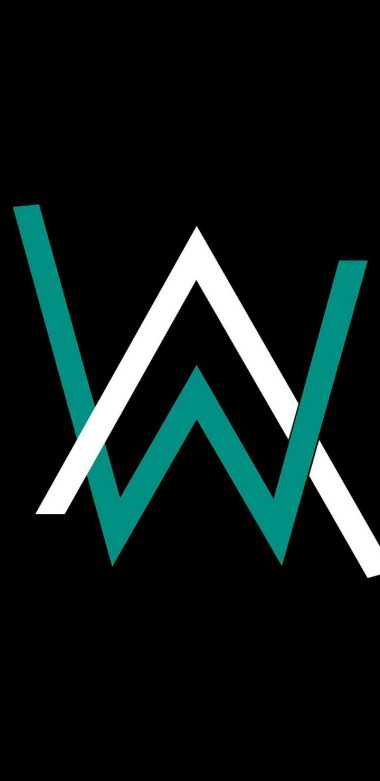 Alan Walker Logo Qhd Wallpaper 720x1480 380x781