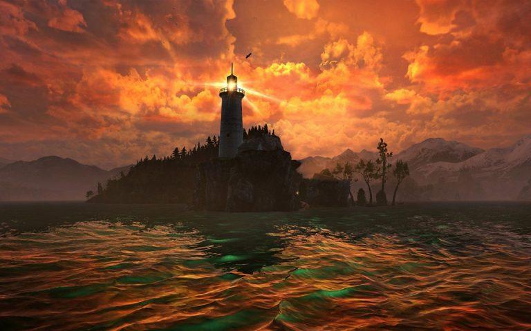 Amazing Lighthouse Wallpaper 03