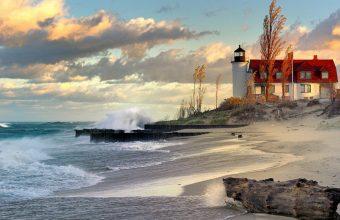 Amazing Lighthouse Wallpaper 04 1152x720 340x220