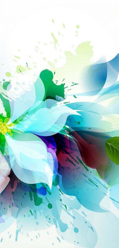 Artistic Flower Wallpaper 1080x2248 380x791