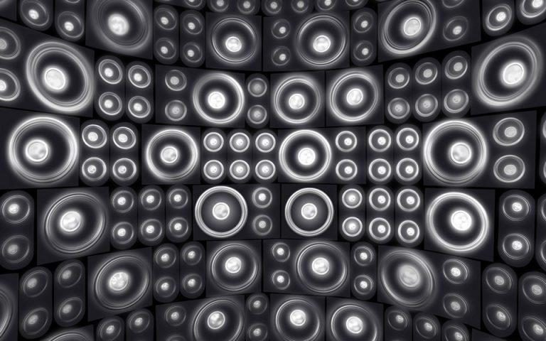 Audio Wall Wallpaper 960x600 768x480