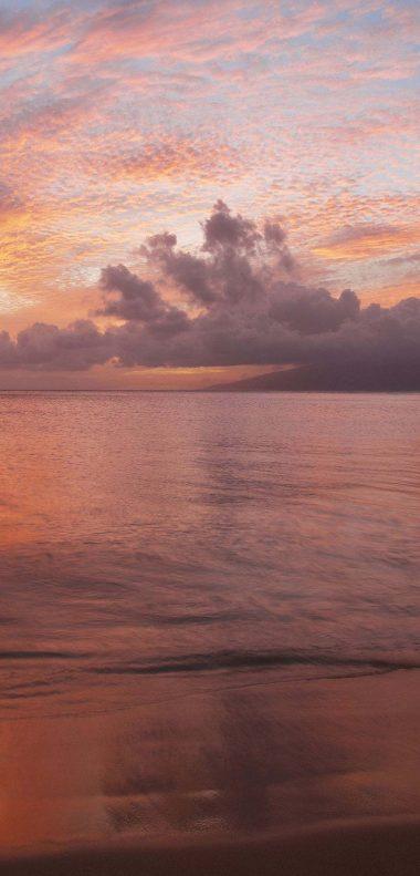 Beach Sunset Wallpaper 1080x2248 380x791