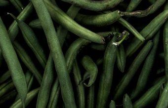 Beans Pods Green Wallpaper 720x1520 340x220