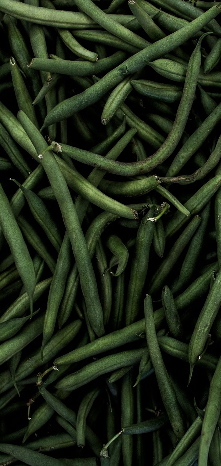 Beans Pods Green Wallpaper 720x1520