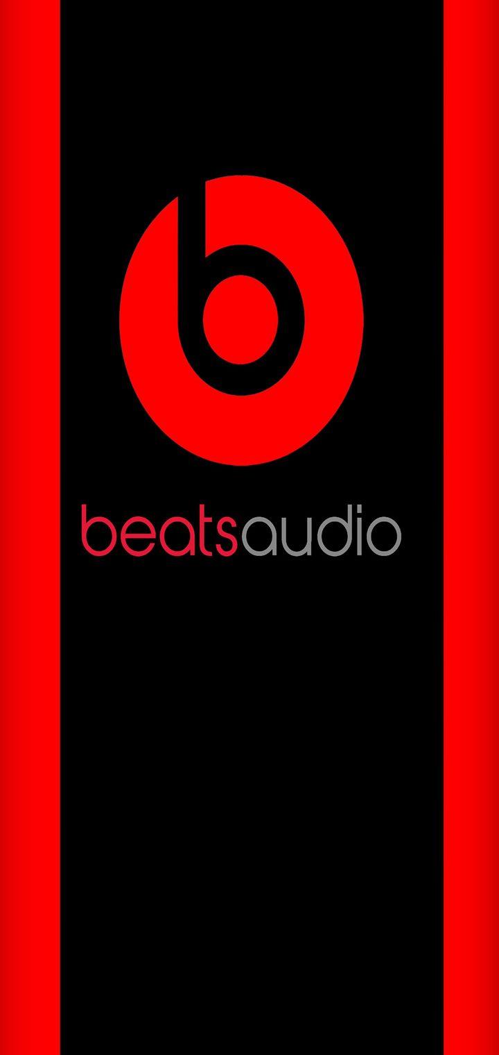 Beats Audio Hd Logo Wallpaper 720x1520