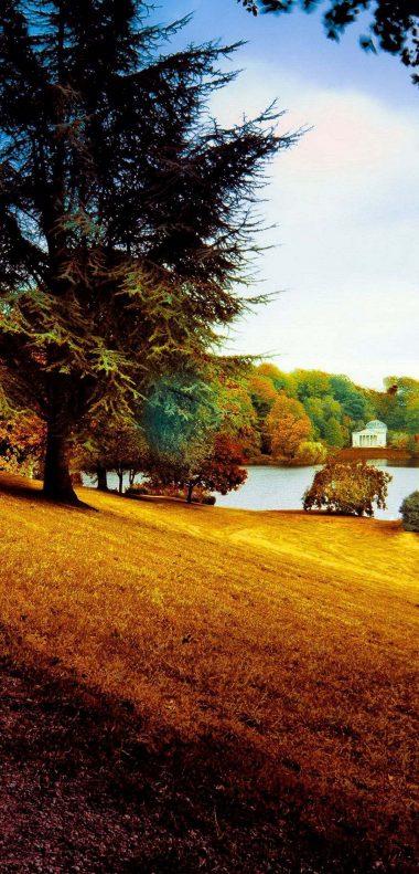 Beautiful Park Wallpaper 1080x2248 380x791