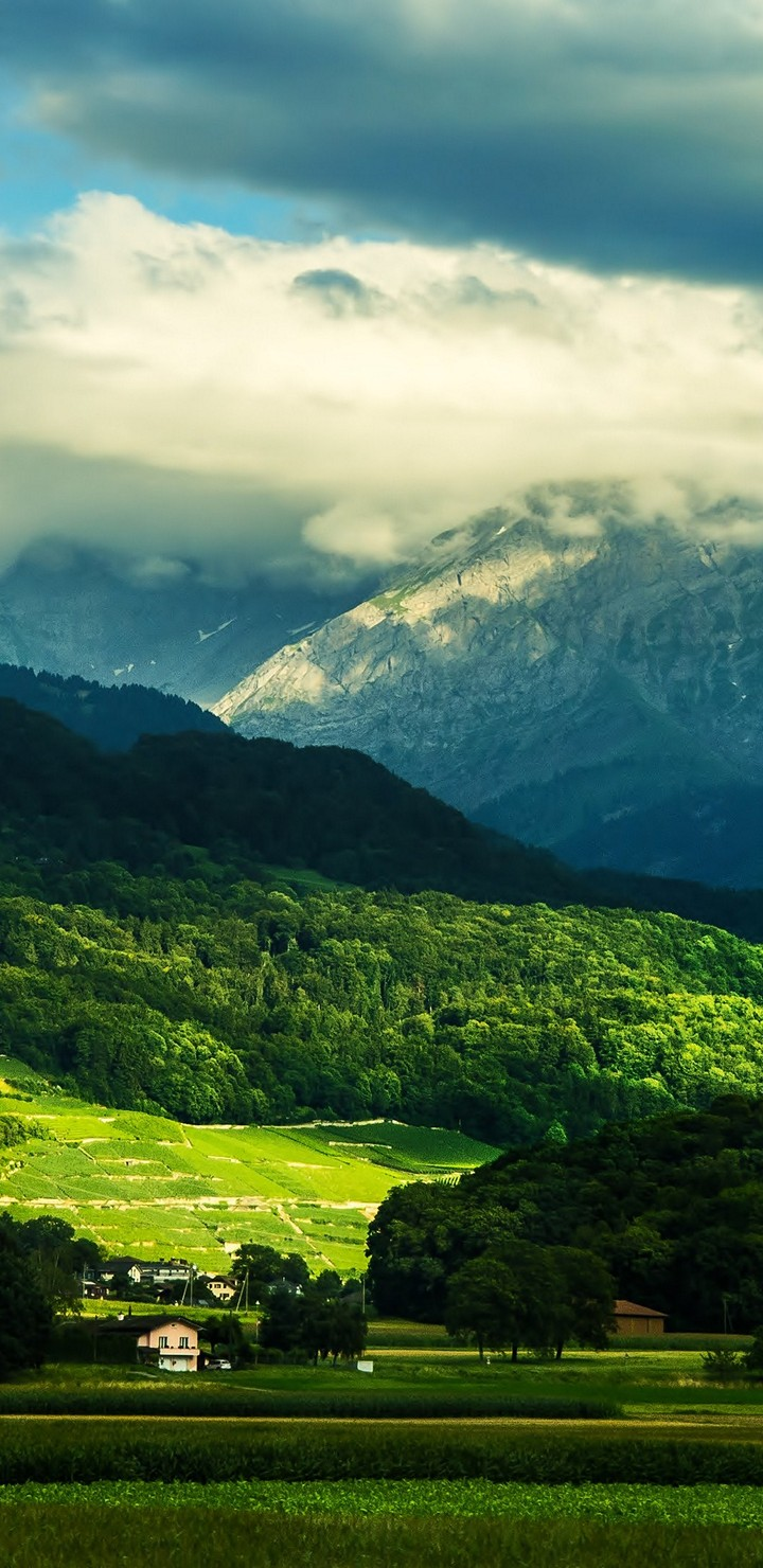 Beautiful Valley Wallpaper