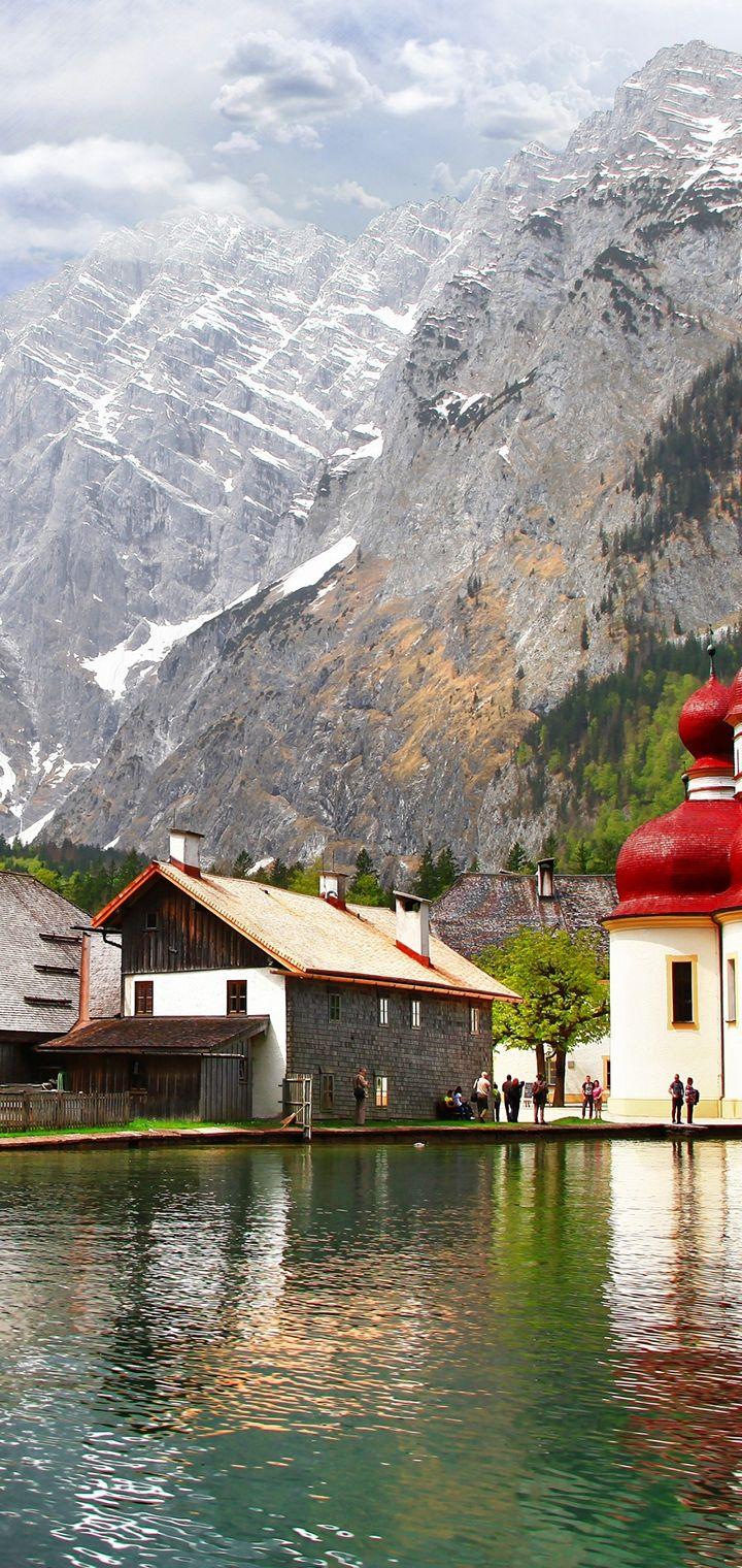 Berchtesgaden Bavaria Bayern Wallpaper 720x1520