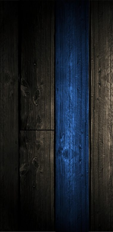 Blue Wood Wallpaper 720x1480 380x781