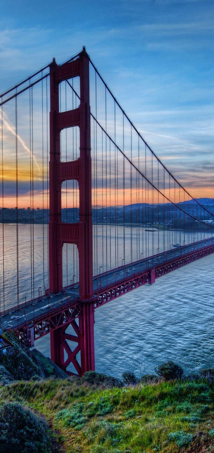 Bridge Golden Gate Wallpaper 720x1520