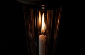 Candle Night Lamp Wallpaper 720x1520 340x220