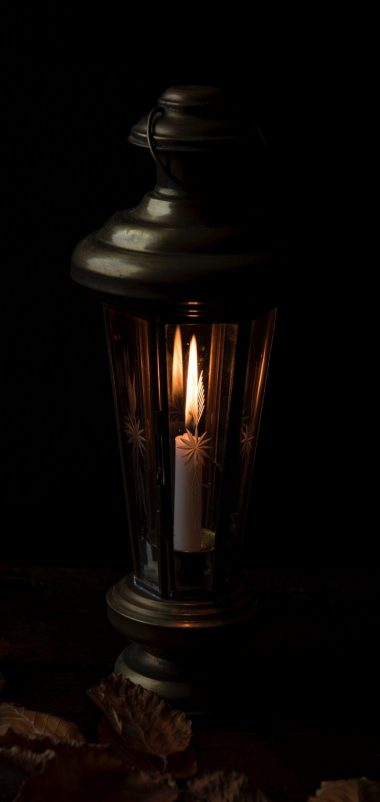 Candle Night Lamp Wallpaper 720x1520 380x802