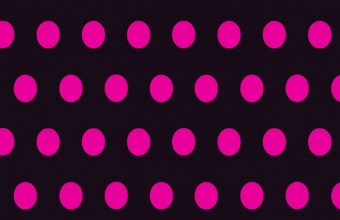 Circles Art Pink Black Wallpaper 720x1520 340x220