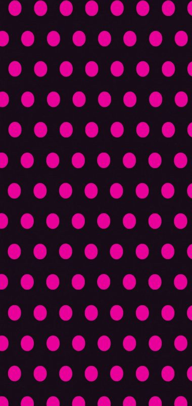 Circles Art Pink Black Wallpaper 720x1520 380x802