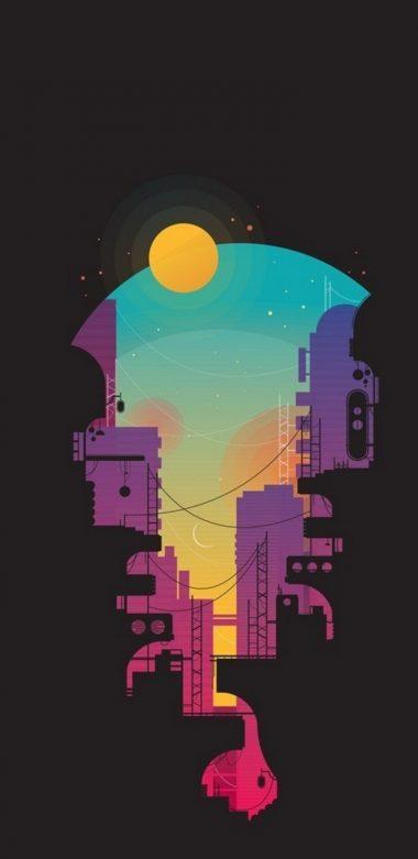 City Minimalism Sv Wallpaper 720x1480 380x781
