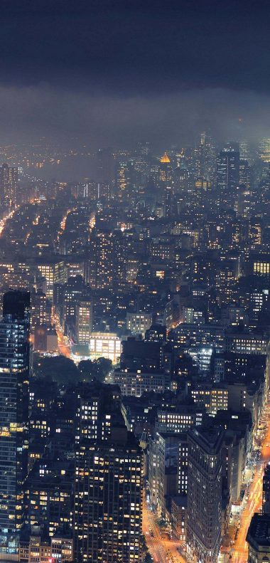 City Night Wallpaper 1080x2248 380x791
