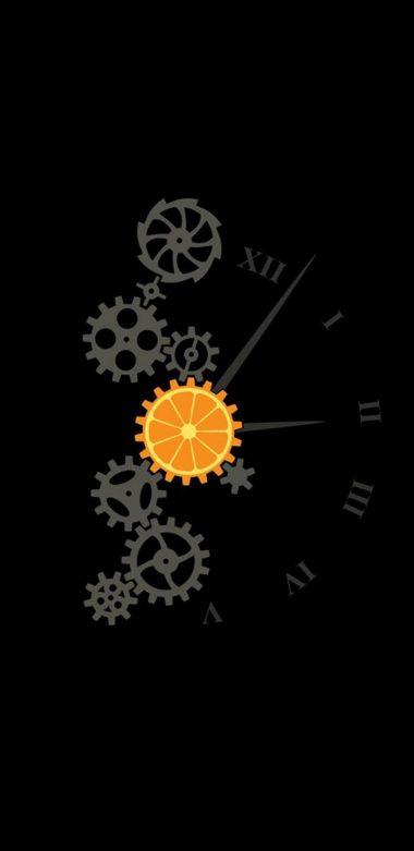 Clock Minimalism Image Wallpaper 720x1480 380x781