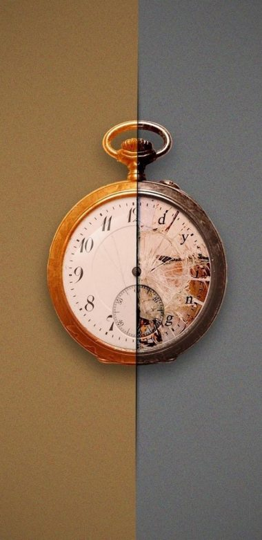 Clocks Artwork Pic Wallpaper 720x1480 380x781