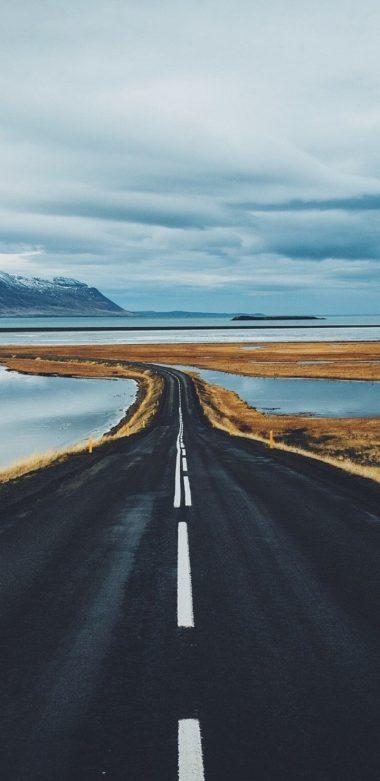 Cloud Horizon Landscape Nature Road A4 Wallpaper 720x1480 380x781