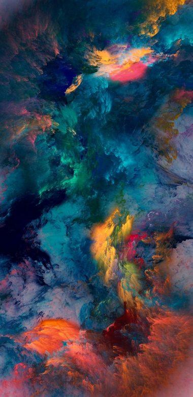 Color Storm Wallpaper 720x1480 380x781