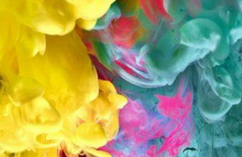 Cool Colorful Smoke Wallpaper 720x1520 340x220