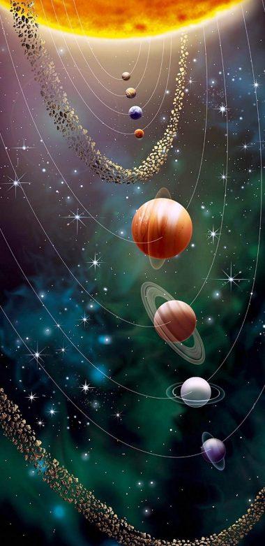 Cosmos 1 Wallpaper 720x1480 380x781