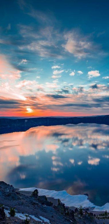 Crater Lake Oregon Ty Wallpaper 720x1480 380x781