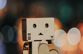 Danbo Cardboard Robot Wallpaper 720x1520 340x220