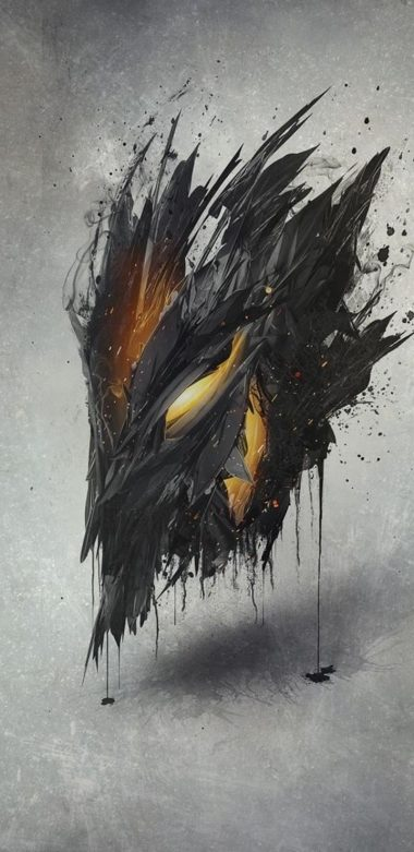 Demon Mask Artwork Ap Wallpaper 720x1480 380x781