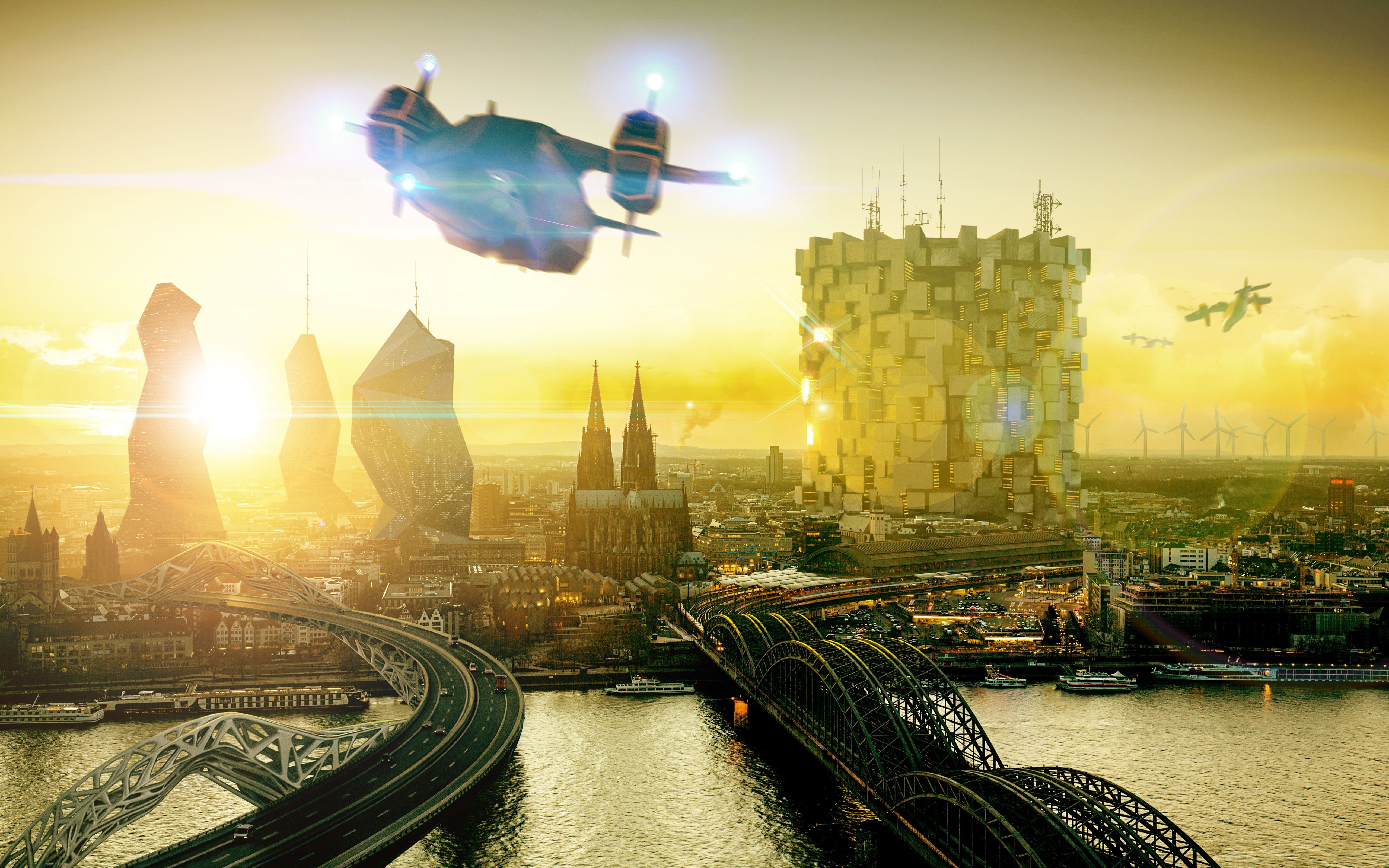 Deus Ex Wants World 2029 Wallpaper