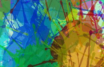 Drops Stains Paint Wallpaper 720x1520 340x220