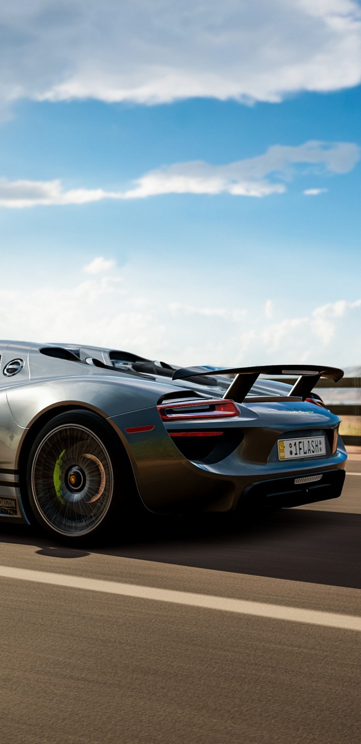 forza horizon 3 porsche 918 spyder be wallpaper - [720x1480]