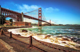 Golden Gate Bridge Hd Wallpaper 960x600 340x220