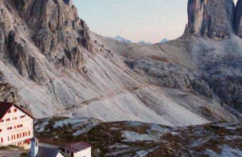 Italy Dolomite Alps Three Peaks Wallpaper 720x1520 340x220