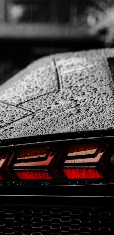 Lamborghini Tail Light Wallpaper 720x1480 380x781